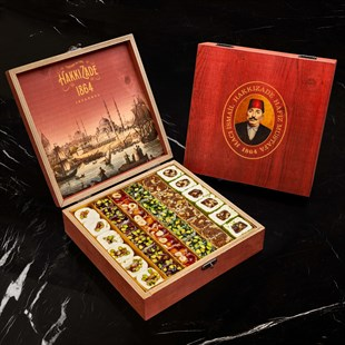 HM 1864 Premium Mixed Delight (Red Wooden Box)