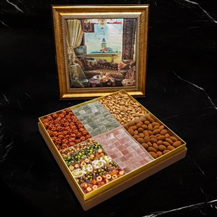 HM 1864 Premium Mixed Turkish Delight & Dragee Large